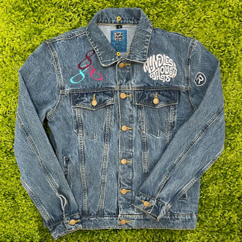 Mindless Thoughts Jean Jacket