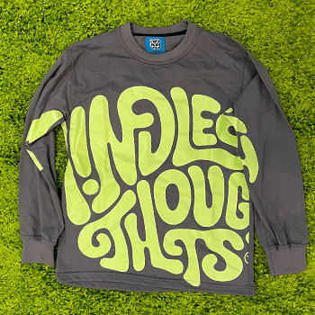 Classic Mindless Thoughts logo Long sleeve