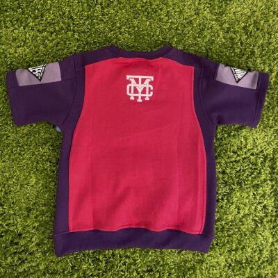 Panel Short sleeve sweatshirt
